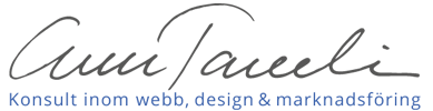 Ann Tavelin Logo